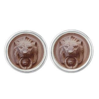 Cufflinks - Lion Head door knocker