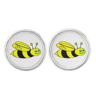 Cufflinks Monsanto Bee Flip