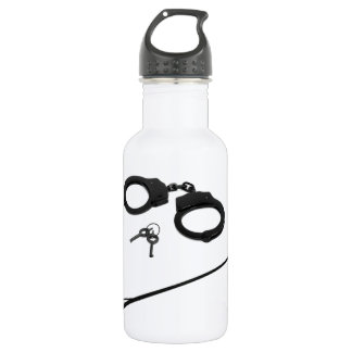 CUFFS AND CROP STAINLESS STEEL WATER BOTTLE