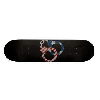 """""""Cuffs"""" Skateboard Deck"""