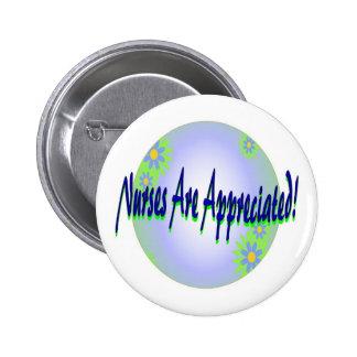 cuida el botón del aprecio pin redondo de 2 pulgadas