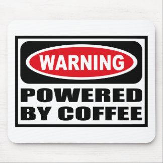 Cuidado ACCIONADO POR el CAFÉ Mousepad Alfombrillas De Ratón