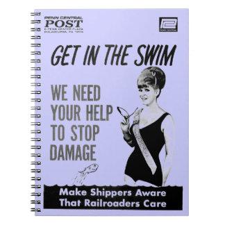 Cuidado central de los Railroaders de Penn sobre d Notebook