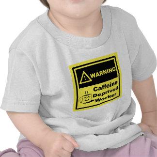 Cuidado de 02 camiseta