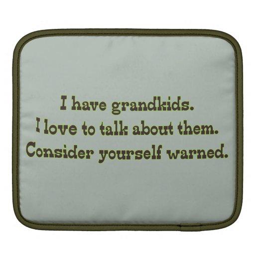 Cuidado de abuelos mangas de iPad