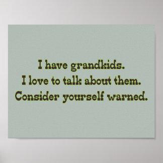 Cuidado de abuelos impresiones