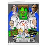 Cuidado de Defund Obama Tarjetas