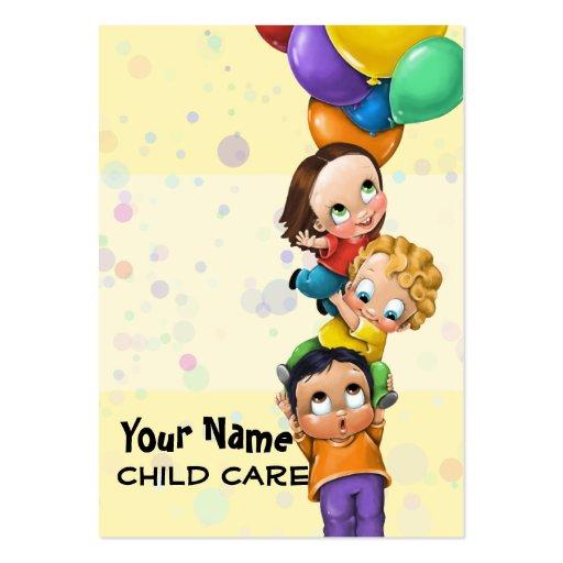 Cuidado de día. Cuidado de niños. El cuid losar Tarjetas De Visita