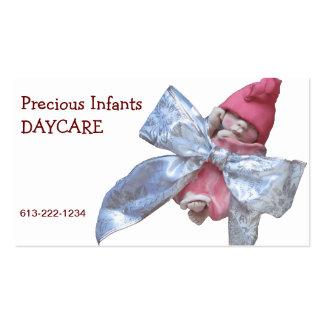 Cuidado de día infantil: Bebé de la arcilla en arc Plantillas De Tarjetas De Visita