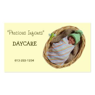 Cuidado de día infantil: Bebé de la arcilla en ces Tarjetas De Visita