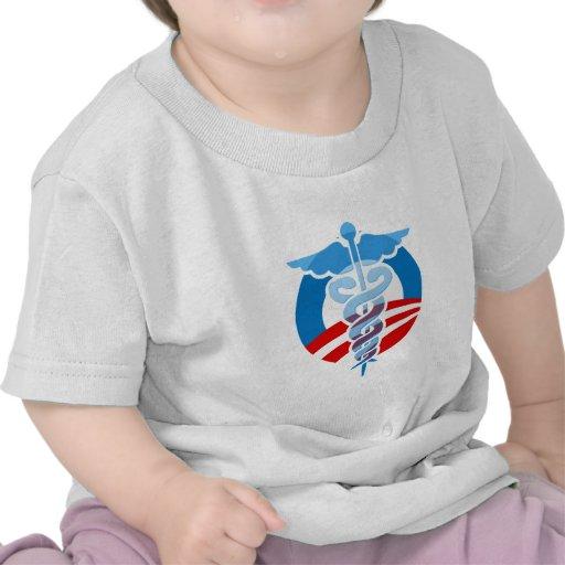 Cuidado de Favorable-Obama Camiseta
