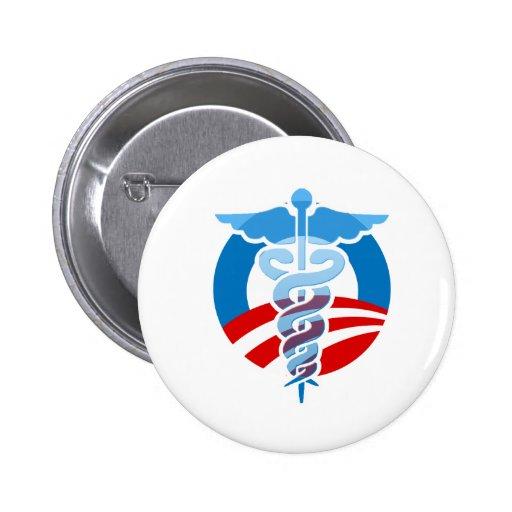 Cuidado de Favorable-Obama Pin