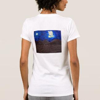 Cuidado de las camisetas del ángel de guarda del a