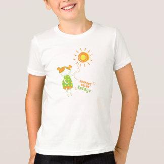 Cuidado de los niños:: Energía solar de la ayuda Playera