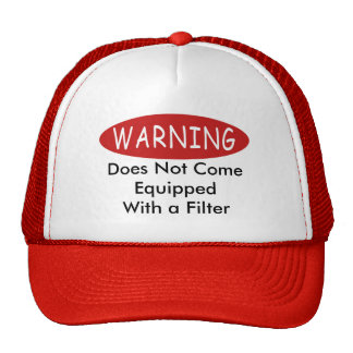 Cuidado de ningún gorra del filtro