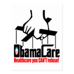 Cuidado de Obama: ¡Atención sanitaria que usted no Tarjetas Postales