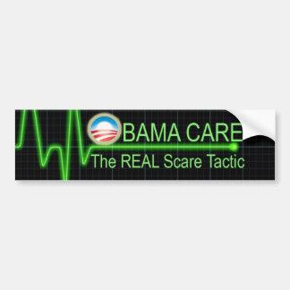 Cuidado de Obama Pegatina Para Auto