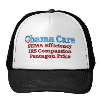 Cuidado de Obama: Eficacia del FEMA Gorras
