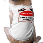 Cuidado de su texto ropa de mascota