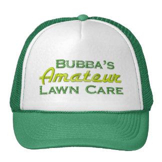 Cuidado del césped de Bubba Gorra