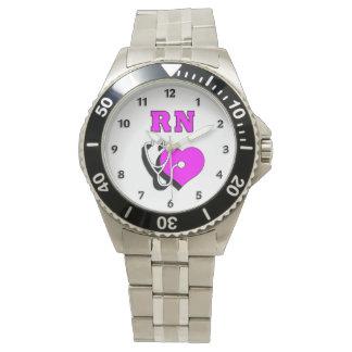Cuidado del RN de la enfermera Relojes