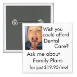 Cuidado dental pin