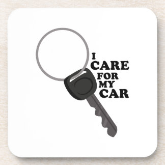 Cuidado para mi coche posavasos