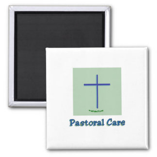 Cuidado pastoral iman de nevera