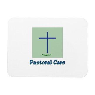 Cuidado pastoral iman de vinilo