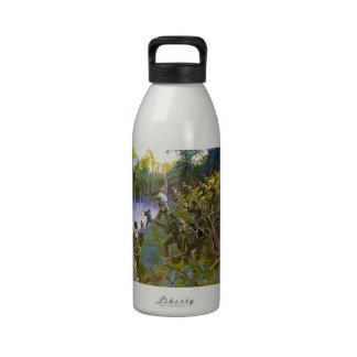 Cuidado - Take Care - Bushmaster with Bolo Reusable Water Bottles