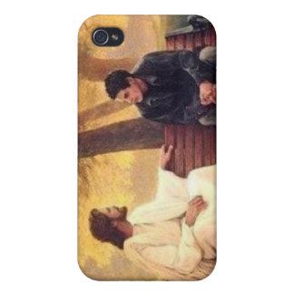 Cuidados de Jesús para mí iPhone 4 Funda