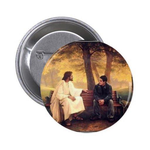 Cuidados de Jesús para mí Pin