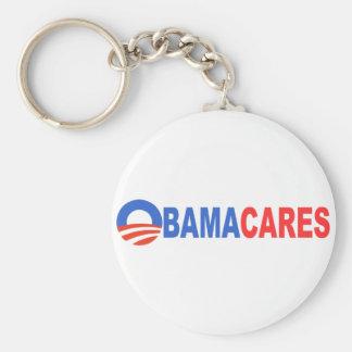 Cuidados de Obama Llavero Redondo Tipo Pin