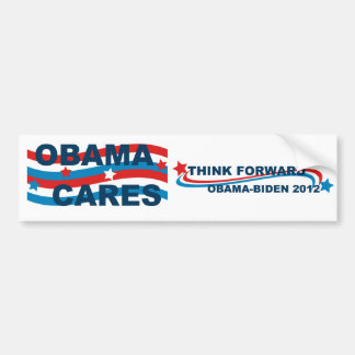 Cuidados de Obama Pegatina Para Auto