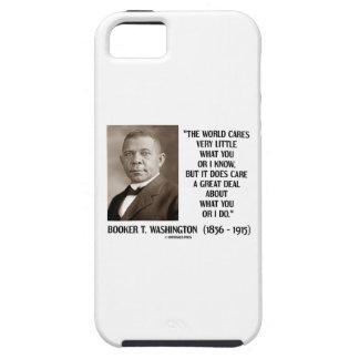 Cuidados del mundo del Booker T. Washington muy Funda Para iPhone 5 Tough