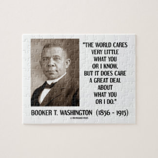 Cuidados del mundo del Booker T. Washington muy Rompecabezas