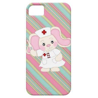 Cuide el iPhone del elefante apenas allí el caso Funda Para iPhone 5 Barely There