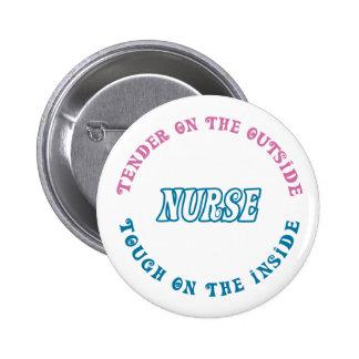 Cuide el perno para la semana de las enfermeras o  pins