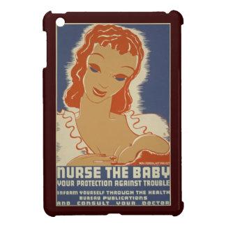Cuide el poster de WPA del bebé iPad Mini Protectores