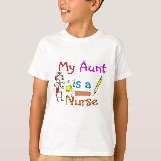 """Cuide """"mi tía es las camisetas de los niños de una"""