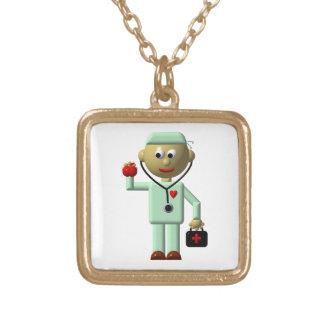 Cuide w/Apple, estetoscopio, collar médico del bol