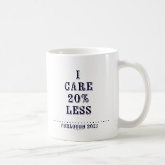 Cuido menos taza clásica