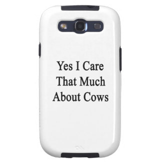 Cuido sí que mucho sobre vacas galaxy SIII protector