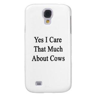 Cuido sí que mucho sobre vacas