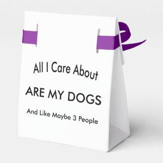 Cuido sobre mis perros cajas para regalos de boda