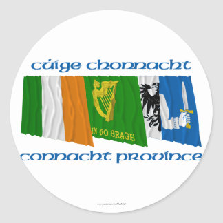 Cúige Chonnacht (Connacht Province) Flags Sticker
