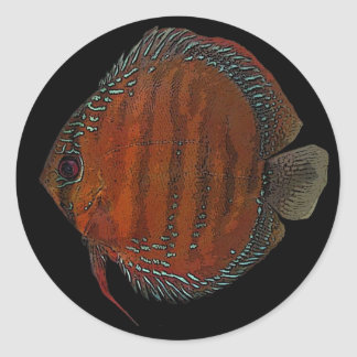 Cuipeua discus classic round sticker