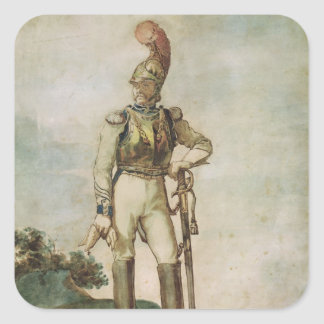 Cuirassier Square Sticker