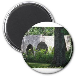 Cuivre River B ridge 7-9-09 2 Inch Round Magnet