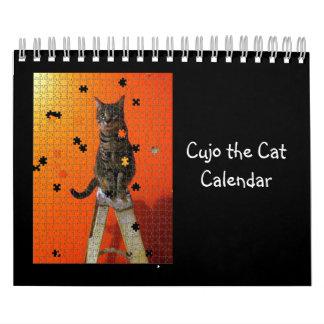 Cujo the Cat Calendar